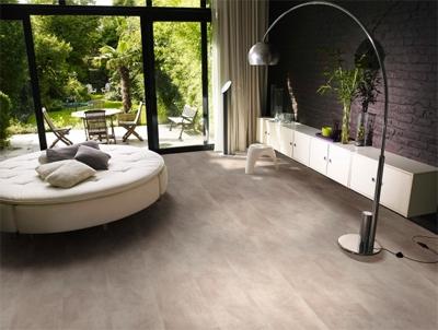 Een vinyl vloer in keuken, slaapkamer of woonkamer